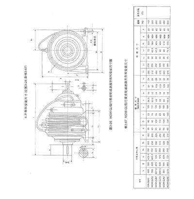 NGW-QJ型行程减速机