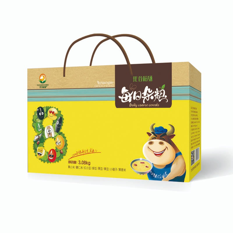 不一样的现代化礼盒包装,使得包装印刷不在单一老套