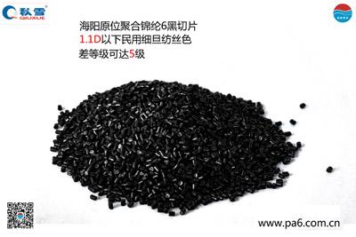 原位聚合尼龙6黑切片可纺性好在哪?