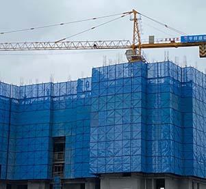 福州建筑外墙爬架公司在进行搭建的时候,需要做哪些施工前期的准备工作呢?