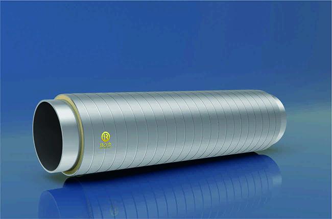 预制架空聚氨酯镀锌热水保温管
