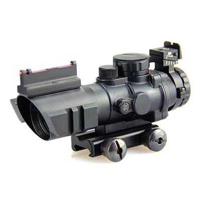 光纤棱镜4X32瞄准镜