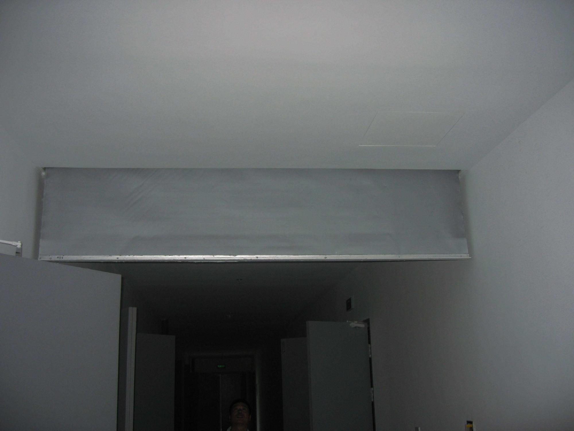 固定柔式挡烟垂壁