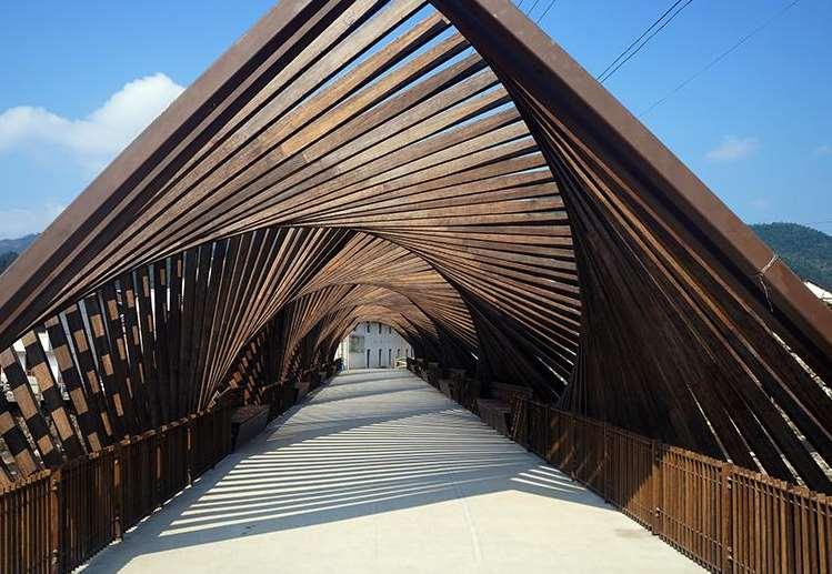 竹长廊的设计有什么好处