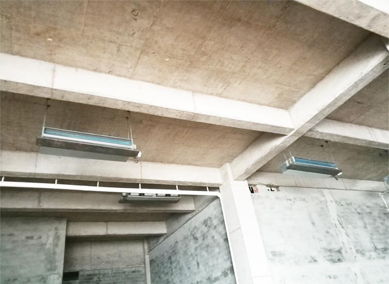 中央空调安装设备吊装