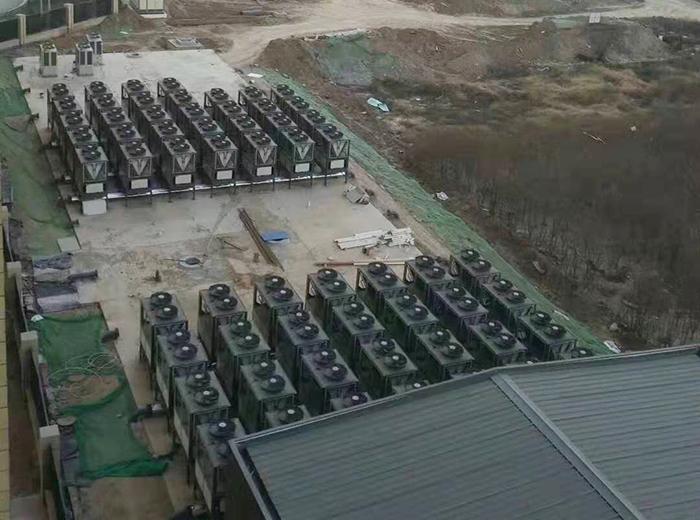 山东莱州朱旺村空气能采暖工程案例