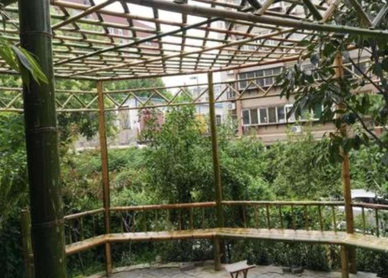 教大家怎样搭建竹花架