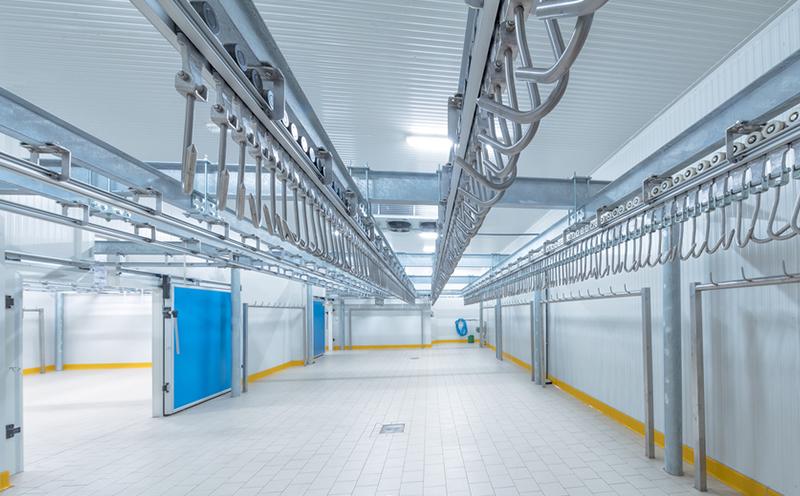 冷库建造后致冷管的清理流程