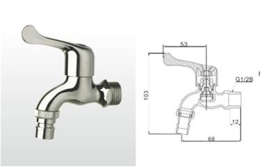 埃美柯水嘴-151CP3TF 黄铜洗衣机水嘴