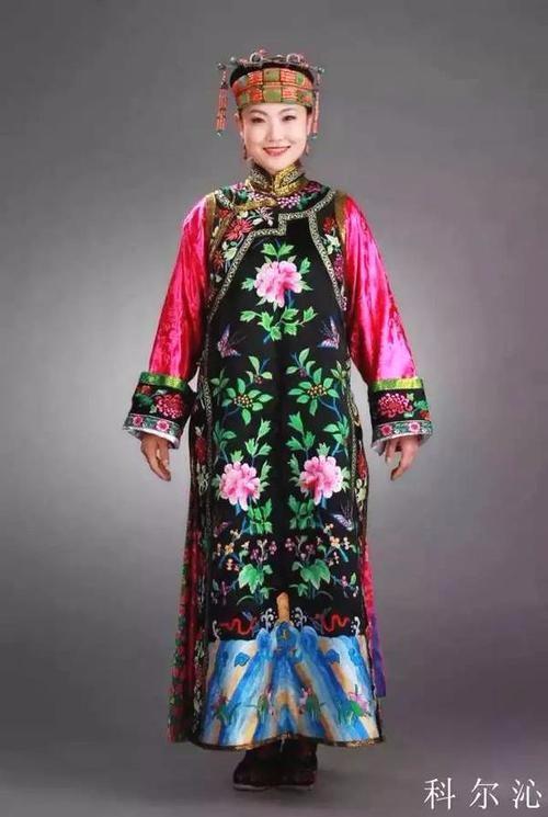 喀尔喀蒙古服饰