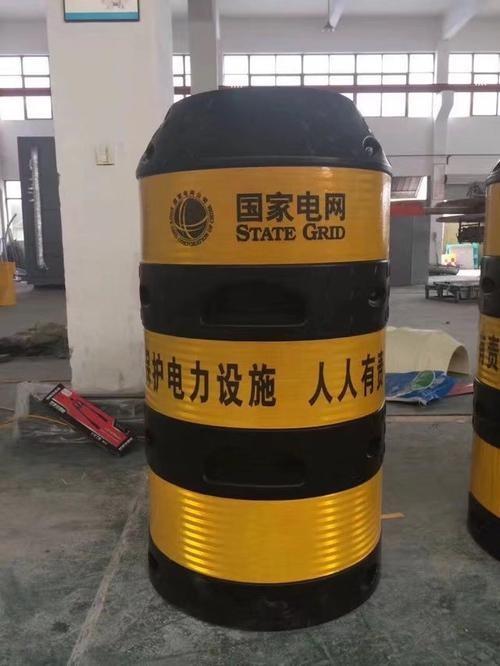 反光膜塑料防撞桶表面贴
