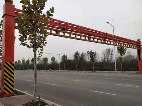 天津自动限高架