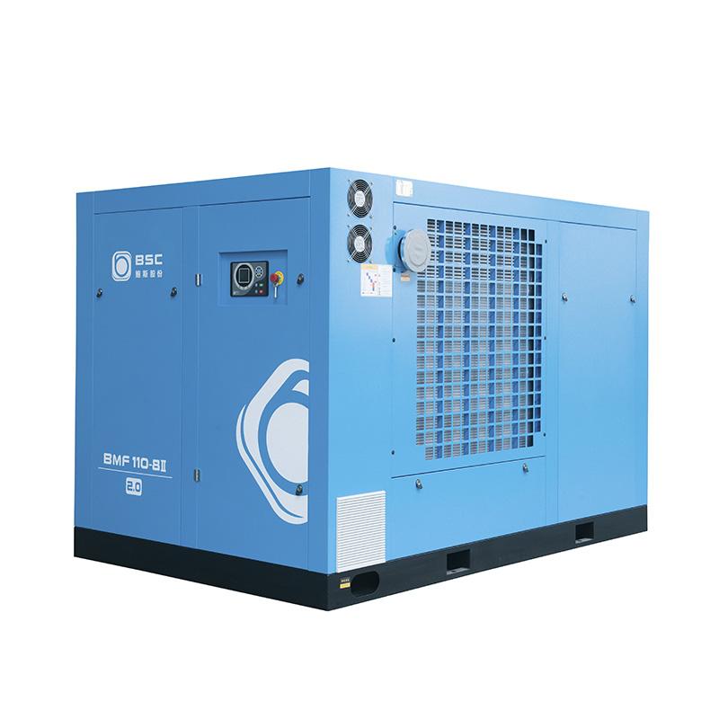 两级压缩螺杆空压机是否真的省电?