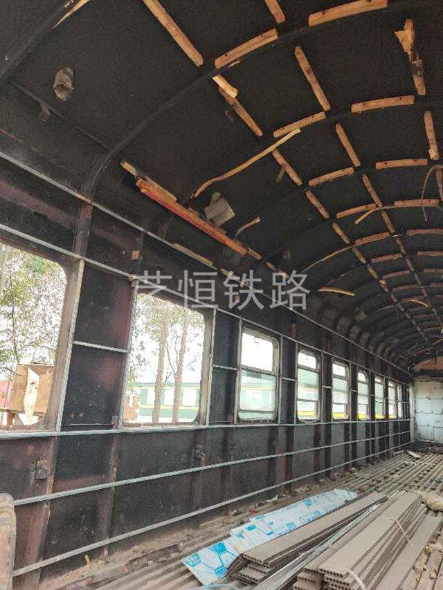 废旧轨道车
