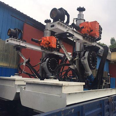 安徽淮北礦業因氣動履帶式鉆機與河北菲克森結緣
