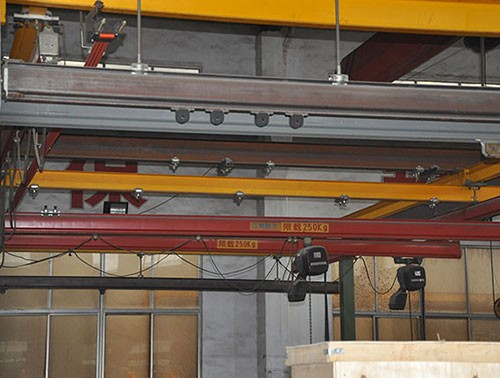 柔性轻型组合式悬挂起重机
