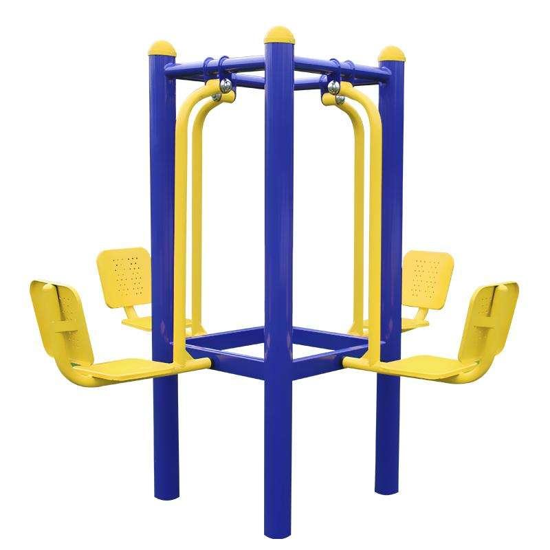 公园里、小区里健身器材为什么越来越多