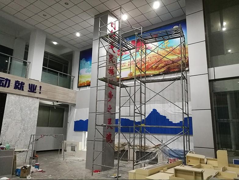 内蒙景区广告牌制作厂