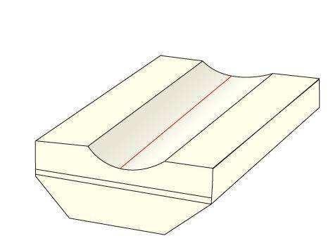 导致陶瓷衬垫背面缩孔的原因