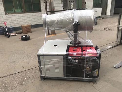 雾炮机防冻装置性能如何?