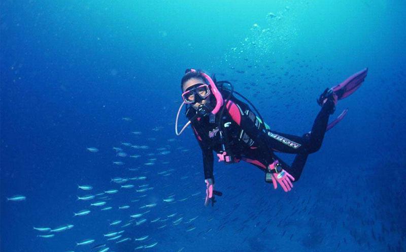 JK潜水教您强流环境潜水的应对技巧