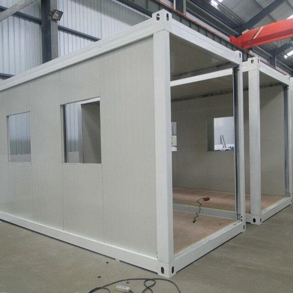内蒙古集装箱活动房厂家谈集装箱房子的发展
