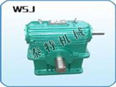 WSJ圆柱蜗杆减速机