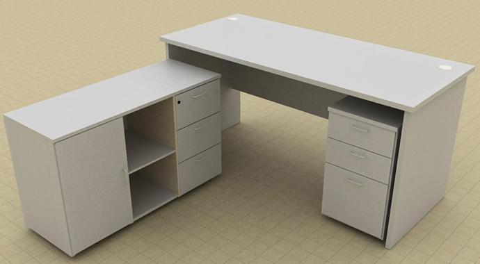 拼接T型办公桌
