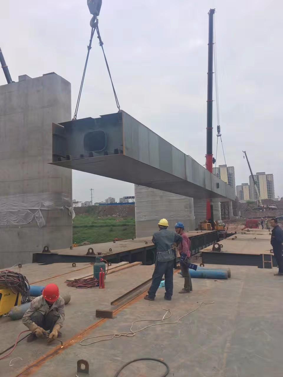 江北桥梁吊装