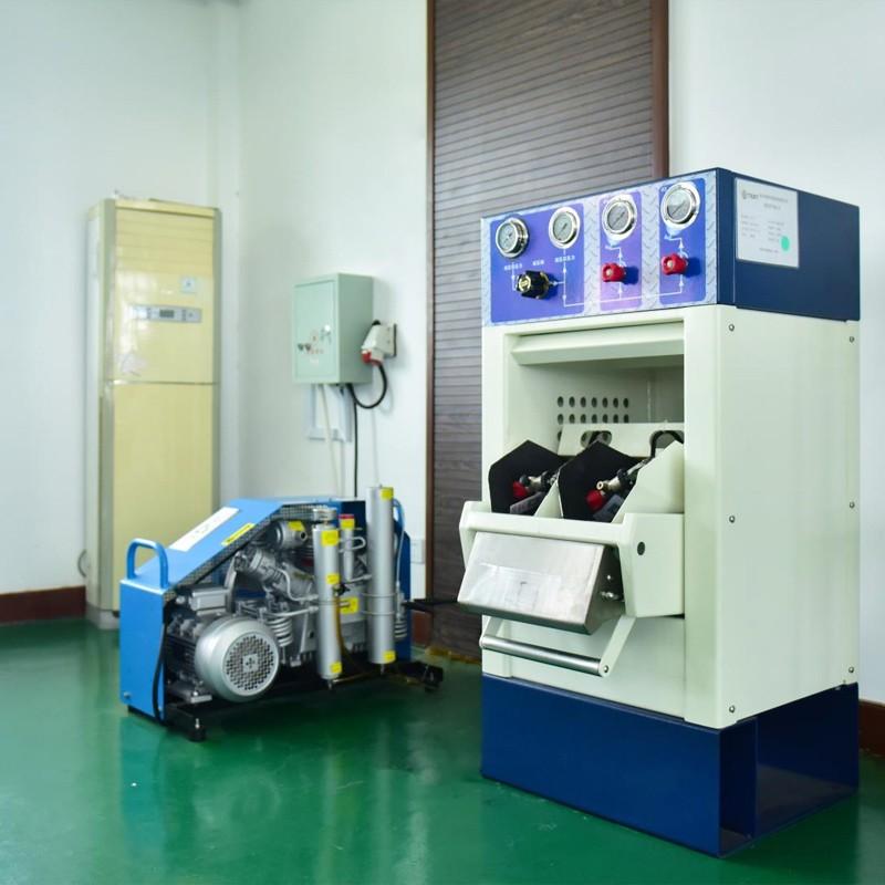 呼吸器充装