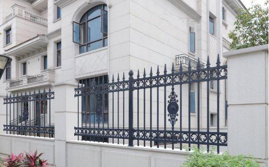 铝艺小区护栏