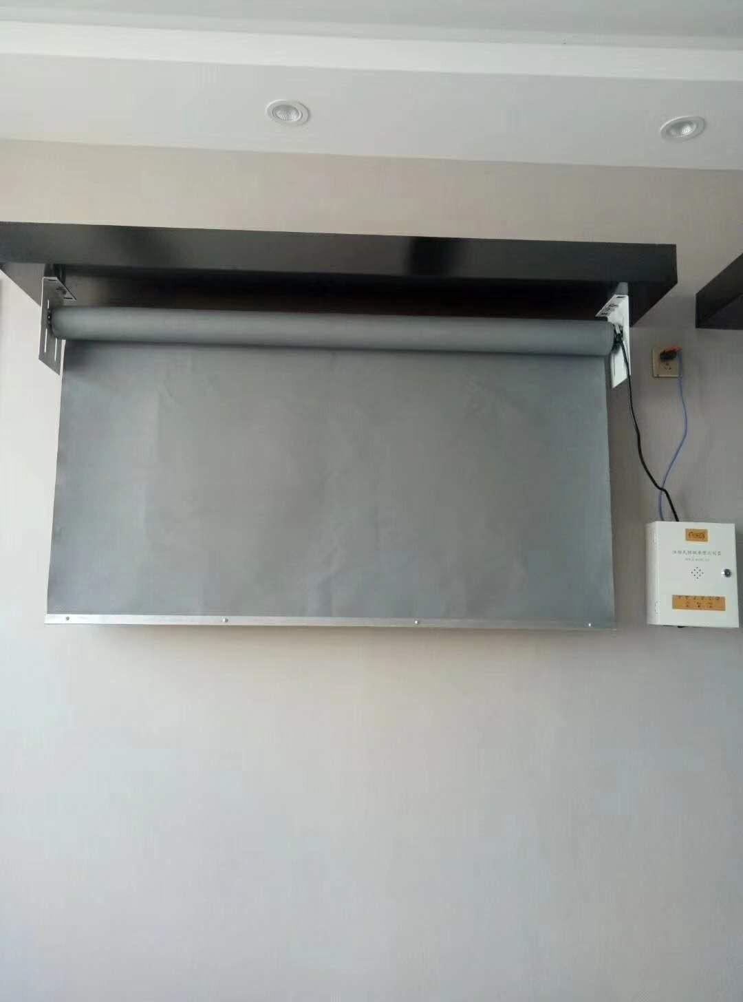 安装挡烟垂壁的超强安全性