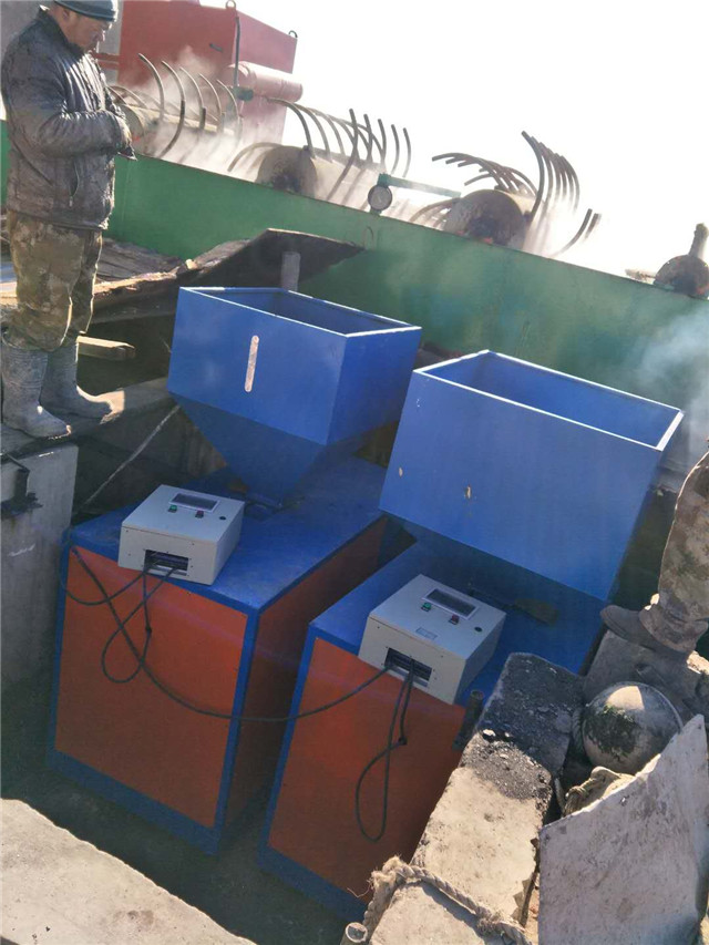 加工海产品的28吨热水燃煤锅改造