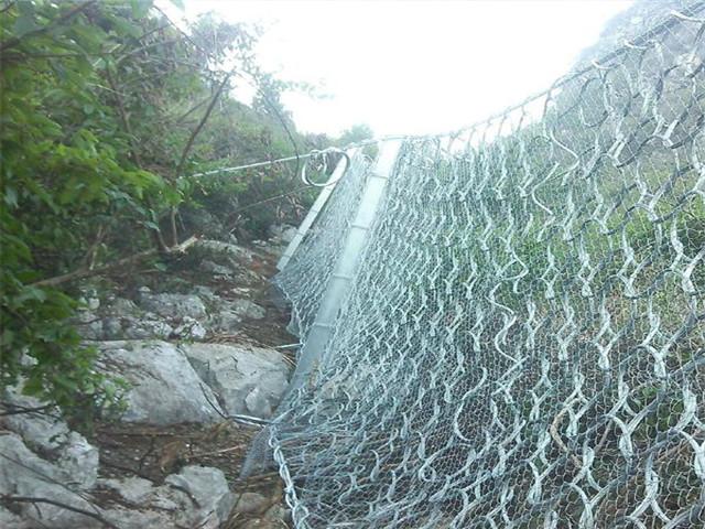 被动边坡防护网的安装注意事项