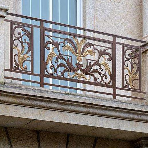 铝艺阳台护栏的优势