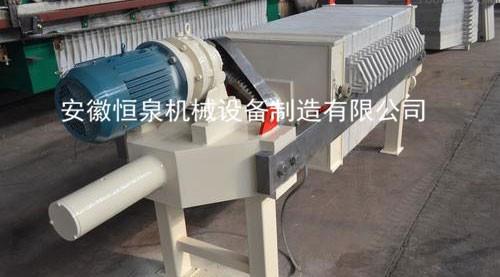 機械壓緊壓濾機