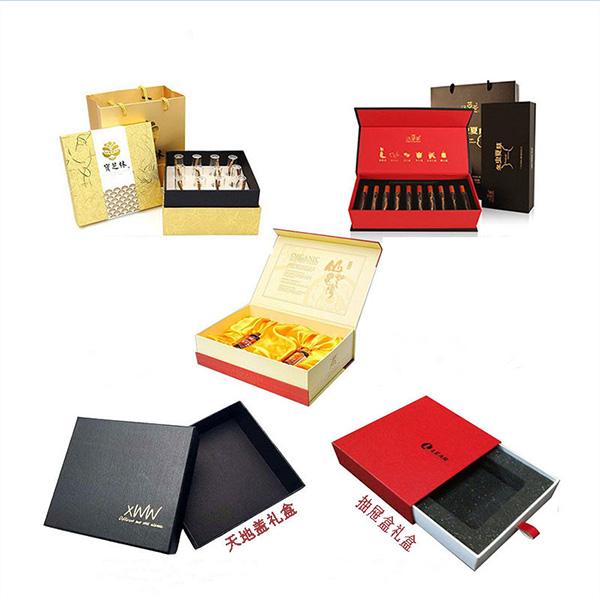 礼品包装盒的制做工艺流程