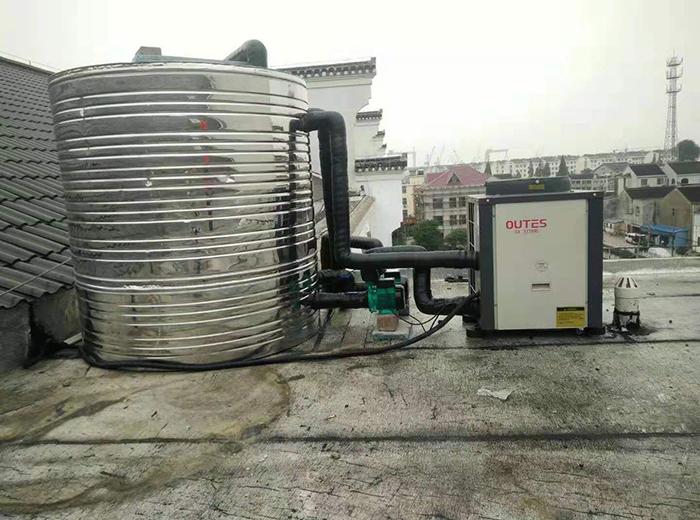 泰州赫丽莎美容空气能热水器