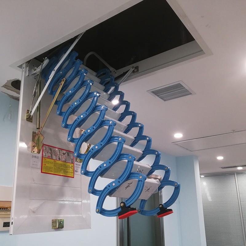 钛镁合金阁楼楼梯