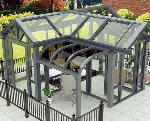 阳光房安装的几个流程