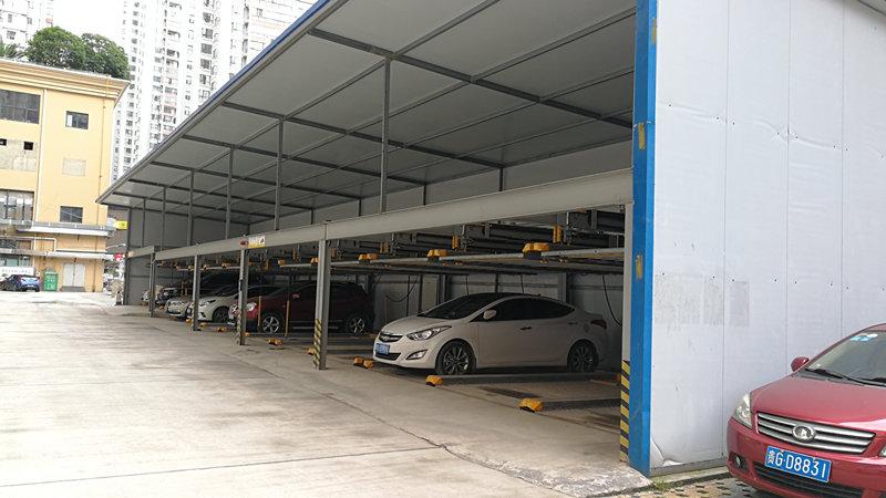 临时性室内停车场用活动板房搭建越来越受到追捧