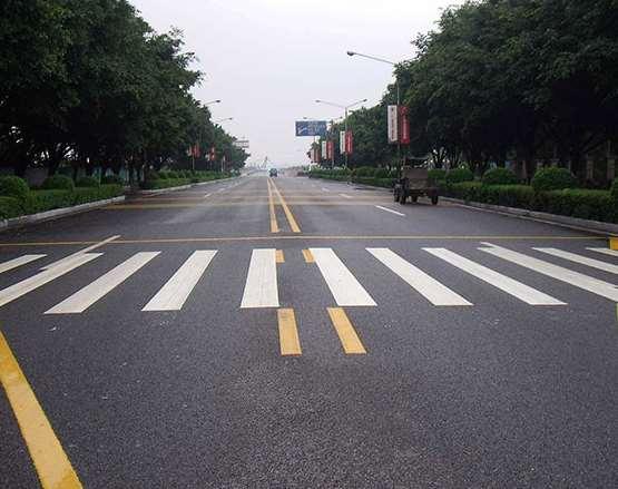 道路划线操作方法要注意