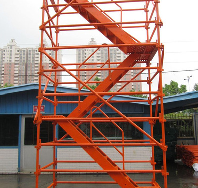 施工安全梯的使用注意事项