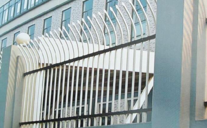 铁艺单向弯头围栏