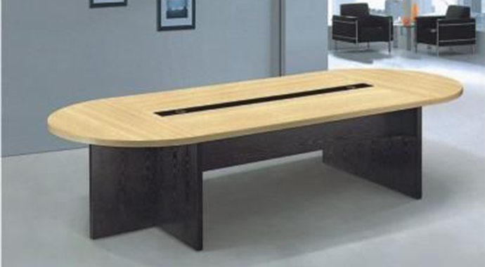 椭圆形板式会议桌