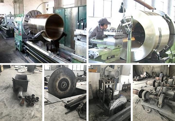 大型铜套厂家厂房设备