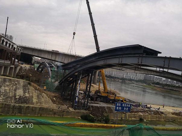 为市场和荣誉而战 一 南宁津头桥项目