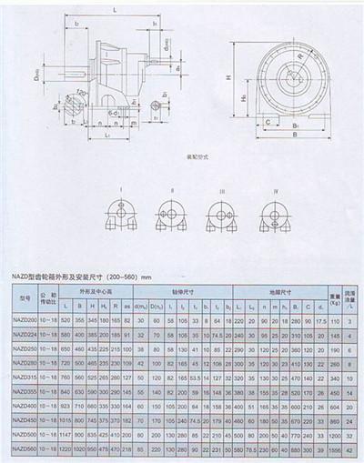 NAZD型行星齿轮减速机