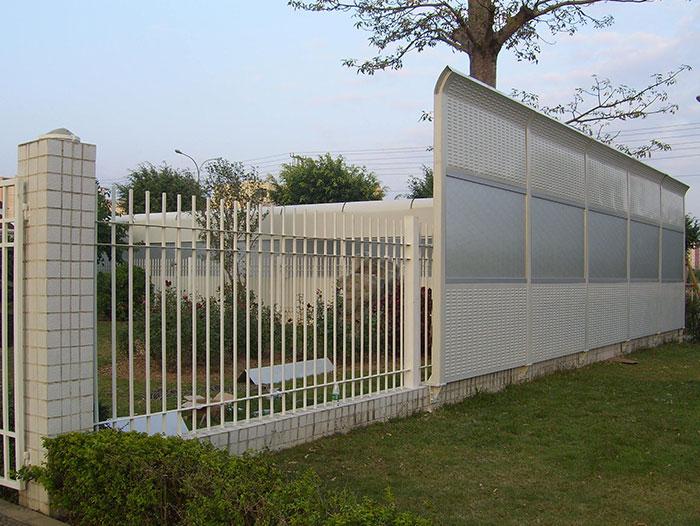 锌钢护栏效果图
