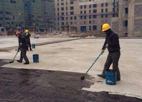 非固化防水安全施工注意事項